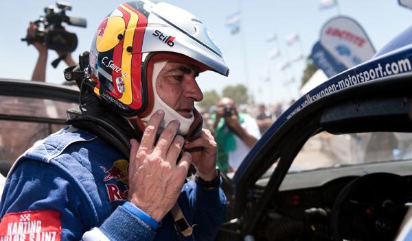 Carlos Sainz tercera plaza Dakar 2011