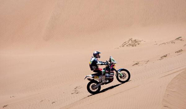 Marc Coma ganador motos Dakar 2011