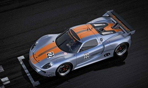 Porsche 918 RSR laboratorio de competición híbrido