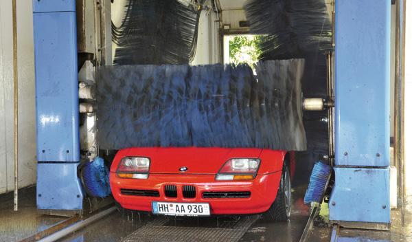 BMW Z1 lavado