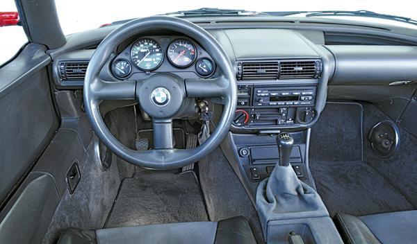 BMW Z1 salpicadero