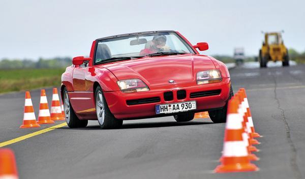 BMW Z1 slalom