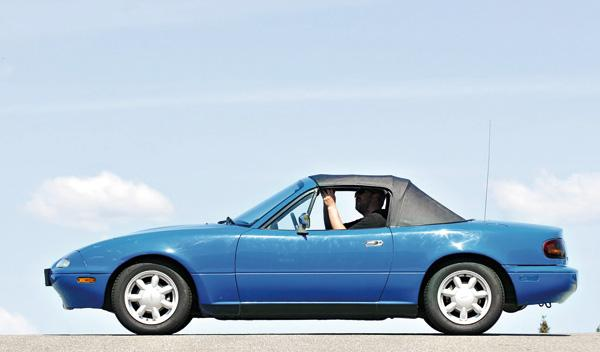 Mazda MX-5 capota