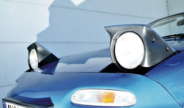 Mazda MX-5 faros