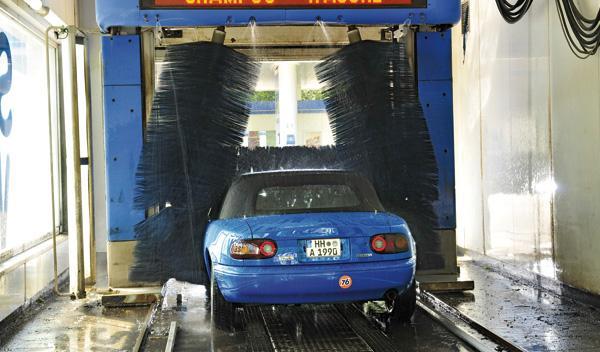 Mazda MX-5 lavado