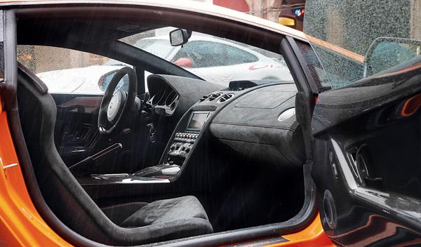 Lamborghini Gallardo Superleggera habitáculo