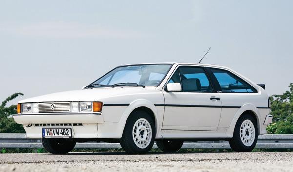 Volkswagen Scirocco II frontal