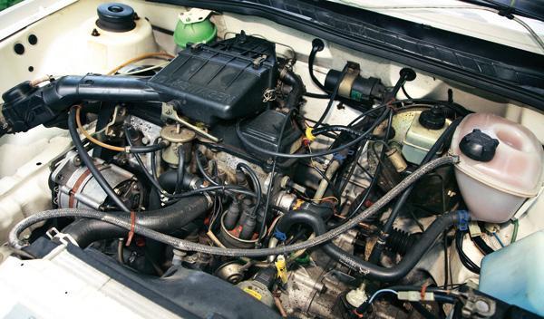 Volkswagen Scirocco II motor