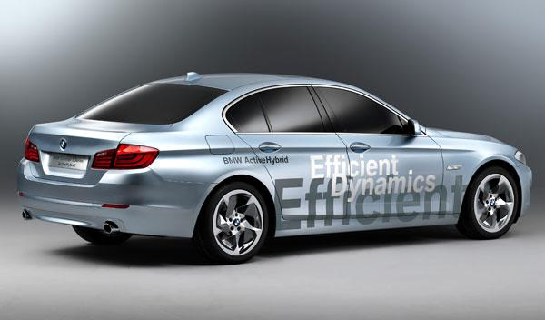 Fotos: BMW Concept 5 Series ActiveHybrid: la berlina del futuro