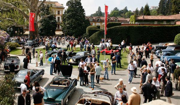Fotos: Los modelos más exclusivos, presentes en Villa d'Este