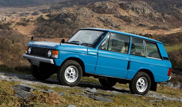 Fotos: El Range Rover cumple 40 años