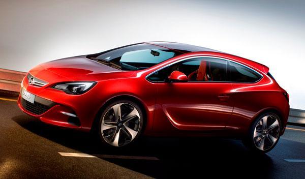 Fotos: El Opel GTC París: un adelanto del Astra de tres puertas