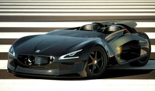 Fotos: Peugeot promete sensaciones eléctricas con el 'concept' EX1
