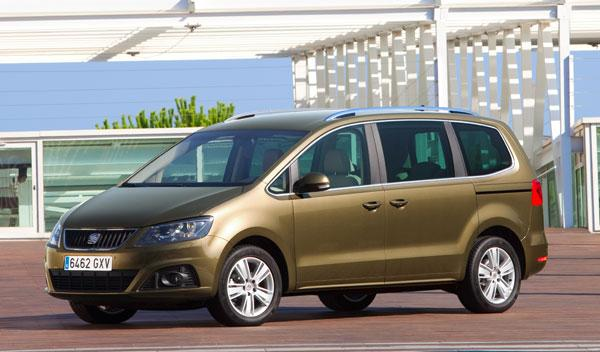 Fotos: El nuevo Seat Alhambra obtiene 5 estrellas en las pruebas Euro NCAP