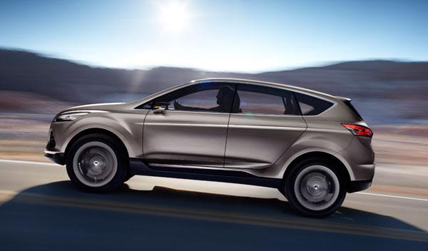 Fotos: Ford presenta el Vertrek, un anticipo del futuro Kuga