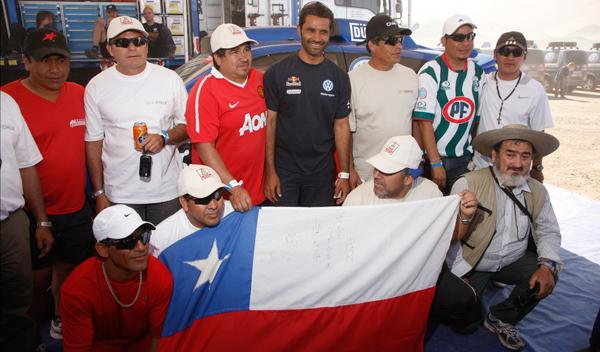 Fotos: Sainz recupera tiempo, pero no el liderato, en las dunas de Copiapó
