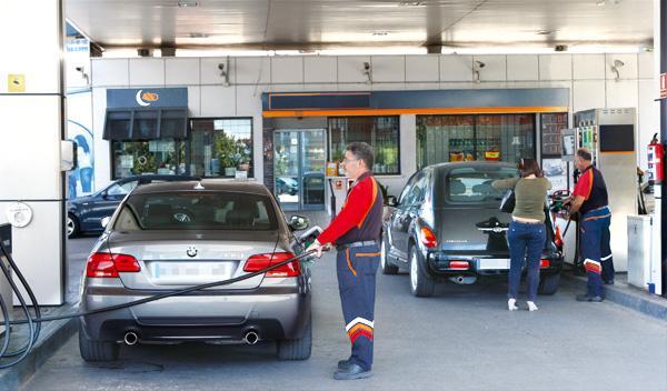 Gasolinera precio récord gasolina