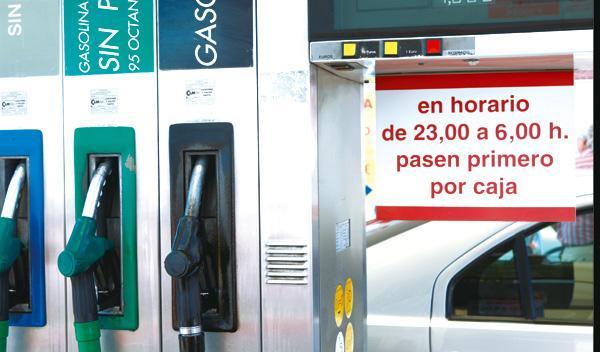 Gasolinera surtidor