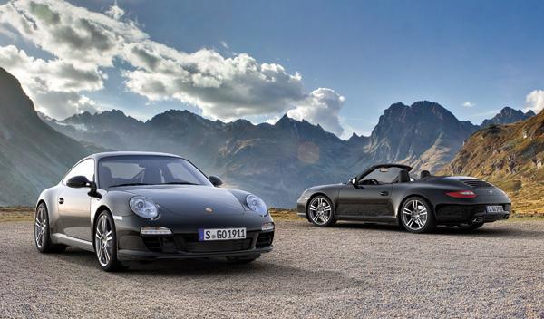 Porsche 911 Black Edition coupé y cabrio
