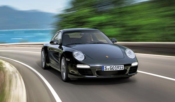Porsche 911 Black Edition coupé