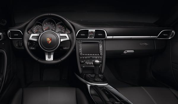 Porsche 911 Black Edition salpicadero