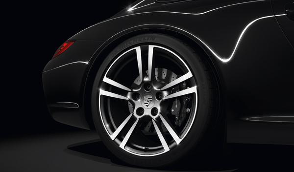 Porsche 911 Black Edition Llanta