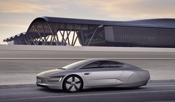 VW XL1 lateral