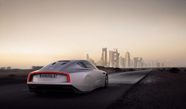 VW XL1 en fase de aceleración
