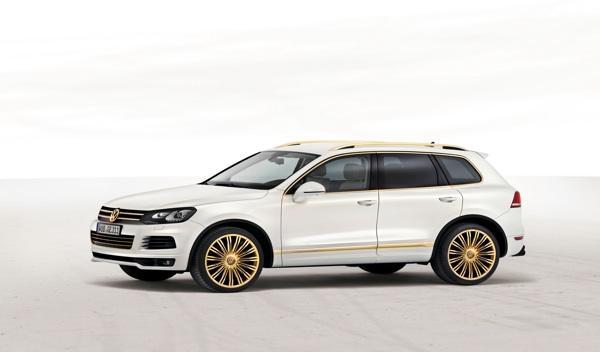 VW Touareg Gold Edition frontal