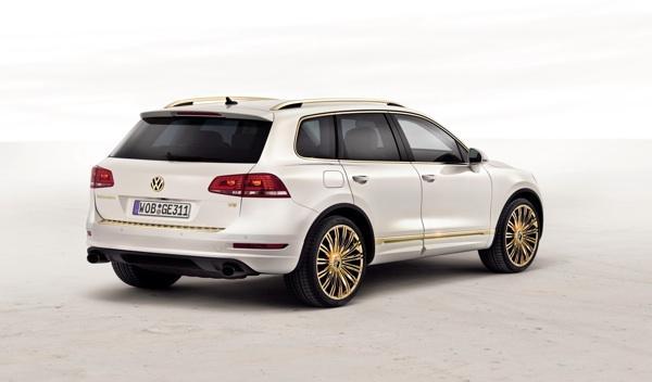 VW Touareg Gold Edition zaga