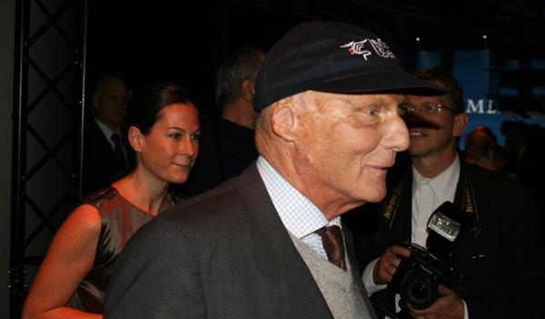 Niki Lauda, en el 125 aniversario de Mercedes