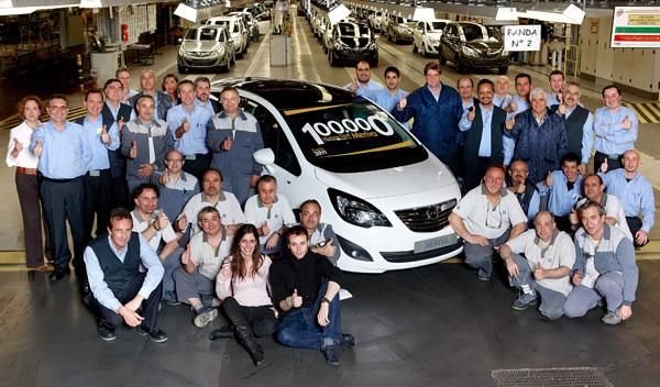 Opel Meriva número 100.000