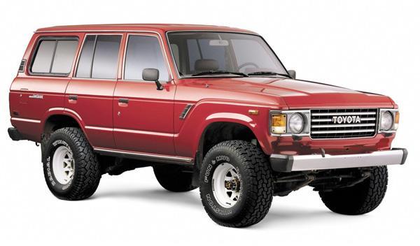 Toyota Land Cruiser 60 series todoterreno 4x4, suv