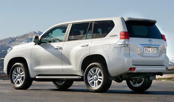 Toyota Land Cruiser 60 Aniversario trasera 4x4 todoterreno suv