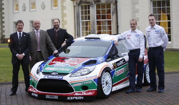 Ford Fiesta S2000, Mikko Hirvonen, Jari-Matti Latvala, Malcolm Wilson