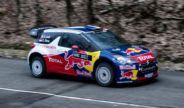 Citroën DS3 WRC lateral