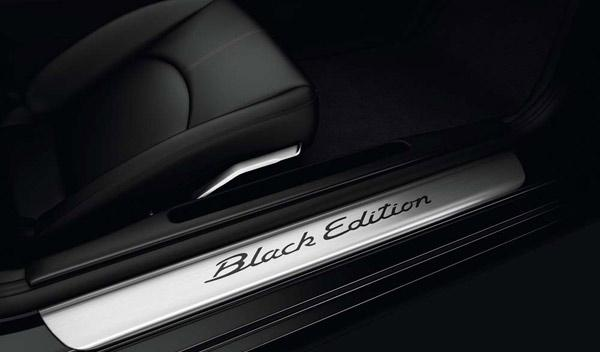 Acceso interior Boxster Black Edition