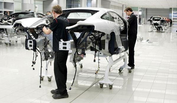 McLaren MP4-12C producción