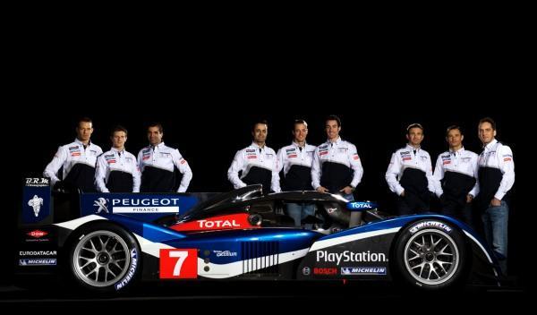 Pilotos Peugeot Le Mans