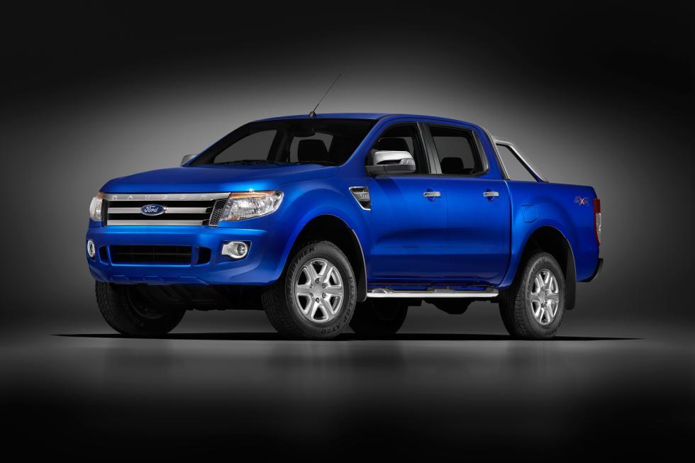 delantera nuevo Ford Ranger
