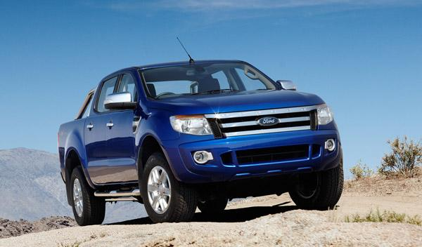 frontal nuevo Ford Ranger