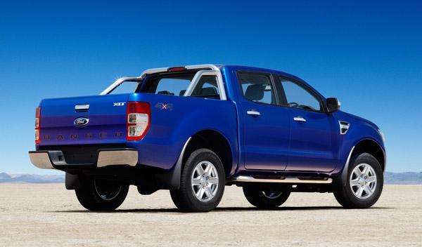 trasera nuevo Ford Ranger