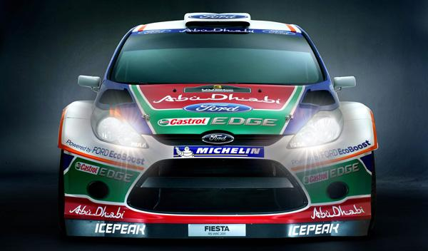 Ford Fiesta WRC frontal