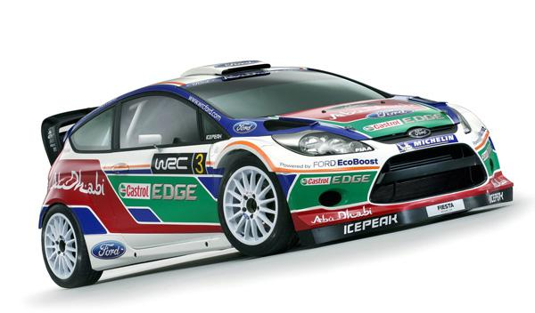 Ford Fiesta WRC lateral