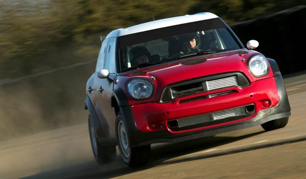 Mini WRC frontal