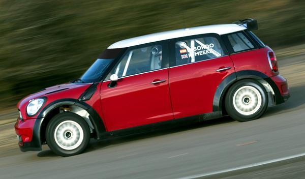 Mini WRC lateral