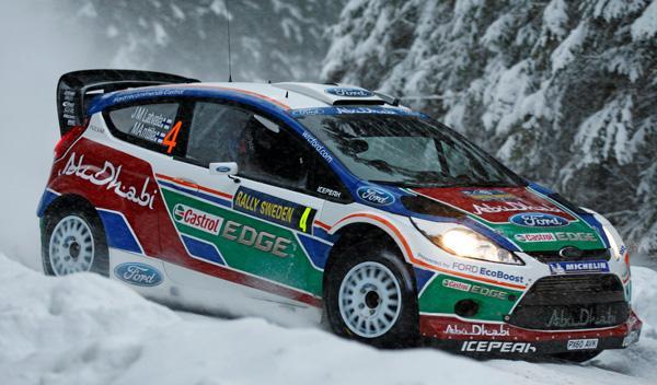 Jari-Matti Latvala Rally de Suecia