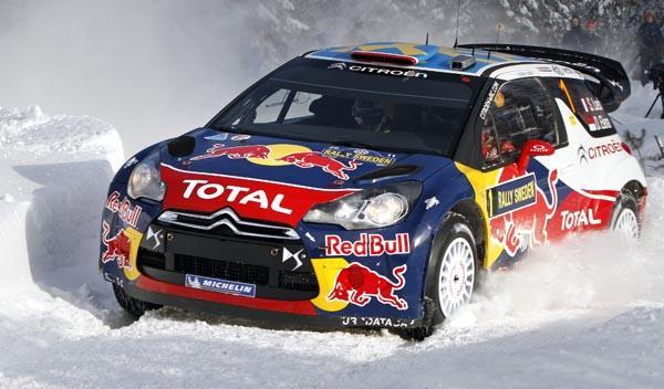 Sébastien Loeb Rally de Suecia