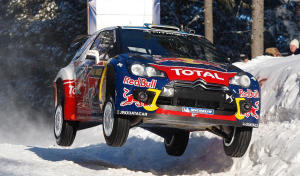 Sébastien Ogier Rally de Suecia