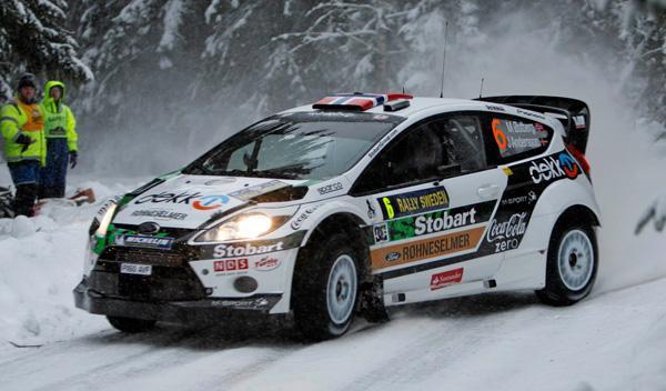 Mads Otsberg Rally de Suecia